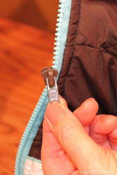 Nancy Zieman/How to repair zippers/Sewing With Nancy | Nancy Zieman Blog & Kyliieu0027s Thread : Tutorial: How to Fix a Broken Zipper | DIY ...