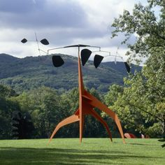 ALEXANDER CALDER Southern Cross, 1963 Sheet metal, rod, bolts, and paint 243 × 324 × 211 in 617.2 × 823 × 535.9 cm Courtesy the Calder Foundation