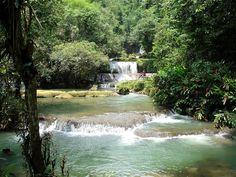 Mayfield Falls in Westmoreland Jamaica