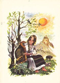 Coca Cretoiu - Dochia Paper Dolls, Card Games, 19th Century, Childhood, Magic, Printed, Retro, Children, School