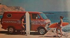 Custom Early 70's Ford van