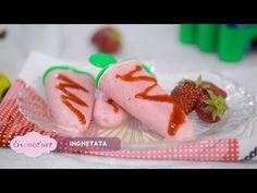 Reteta - Inghetata din numai trei ingrediente | Bucataras TV - Invata sa gatesti 5 Sos, Sushi, Ice Cream, Mexican, Ethnic Recipes, Sweet, Youtube, Banana, No Churn Ice Cream