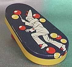 Vintage Kirchhof French Clown Noise Maker.  My parents brought one of these home after a New Years party.