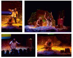 """Los días 27 y 28 de Octubre de 2012.    A las10:45, 12:15 y 18:00 horas en la Sala Insular de Teatro. Las Palmas de Gran Canaria.    Andenes de agua lleva a la Sala Insular de Teatro (SIT) su espectáculo para bebés """"A-mar""""."""