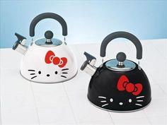 Hello Kitty tea pots