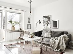 NordicEye - Scandinavian Design   נורדיק איי - עיצוב סקנדינבי   Nice Simple Apartment_stadshem #nordicapartment
