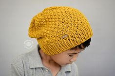 Slouch Moss Beanie FREE knit Pattern - Designs by Phanessa Knitting  Needles 5d326555c731