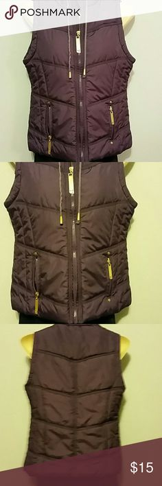 Nice deep purple 26 International vest Excellent condition,  smoke free home 26 International  Jackets & Coats Vests