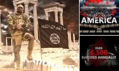 ISIS taunt America in new video urging them to 'bring it on'