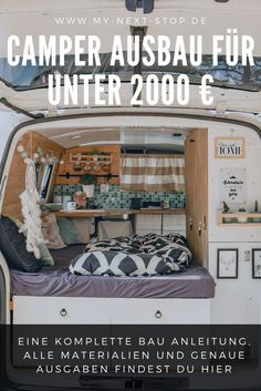 A bus upgrade does not have to be expensive. Our costs are less than 2000 € - . - A bus upgrade does not have to be expensive. Our costs are less than € 2000 – it is also super - Bus Camper, Camper Van Life, Vw T5, T5 Bus, Car Wrap Design, Europa Tour, Luxury Campers, Minivan Camping, Expansion