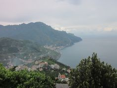 Amalfi Coast in the mist