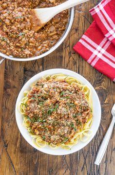 Easy Vegan Pasta Sauce Recipe | One Ingredient Chef