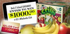 $1000 Gift Card to BJ's Wholesale Club Giveaway - GiveawayFrenzy