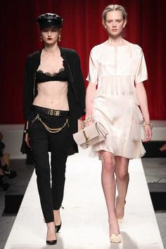 Moschino Spring 2014 Ready-to-Wear Collection Slideshow on Style.com