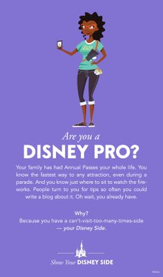 Are you a Disney Pro? #DisneySide