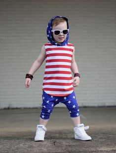 66e697251 4th of July outfit for kids #redwhiteandblue #toddlerswag #patriotic  #patrioticoutfit #starsandstripes