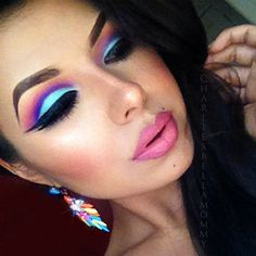 super nice look! might be able to do with urban decay electric palette