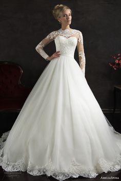 AmeliaSposa 2015 Wedding Dresses | Wedding Inspirasi #Bridal_Wedding_Dress #Wedding_Dress #Inexpensive_Bridal_Wedding_Dress