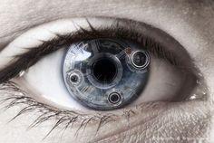 cinder and eye. cyborg image