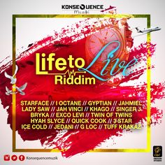 Life To Live Riddim Mix (April 2016) ft I-Octane, Gyptian, jahmiel, Lady Saw, Jah Vinci - DJ Synergy - http://djkaas.com/dancehall-reggae-music/life-live-riddim-mix-april-2016-ft-octane-gyptian-jahmiel-lady-saw-jah-vinci-dj-synergy/