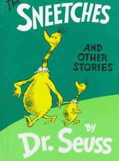 School Counselor Blog: Reading About Fairness - The Sneetches