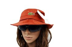 Mens / Womens Unisex Lacoste The Classic Crocodile Embroidery Logo Fisherman Adjustable Bucket Hat - Maroon Lacoste Store, Mlb Baseball Caps, Animal Print Outfits, Knit Beanie, Keep Warm, Crocodile, Bucket Hat, Street Style, Unisex