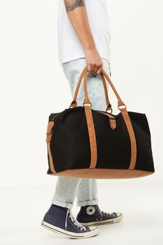 Travel & Bags - Carry On Suitcases & Travel Bag Essentials, Travel Bags, Duffel Bag, Weekender, Luggage Bags, Bag Accessories, Gym Bag, Black, Presents