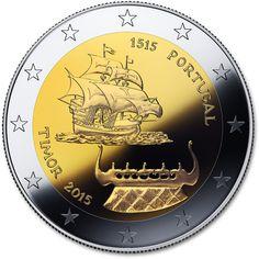 2 Euro 2015 500 Years of Portugiesisch-Timor Commemorative Portugal