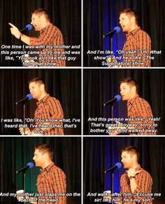 [gifset] this is possibly my new favorite story! Mom will stick up for you and embarrass you till the day you die :)