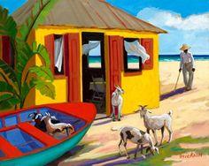 Goat Beach by artist Shari Erickson