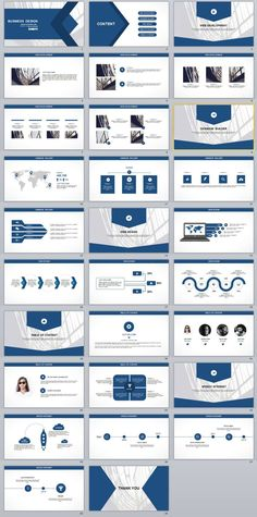 29 black business plan presentation powerpoint templates 29 blue white business report powerpoint templates wajeb Gallery