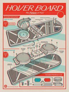 Hover Board - Back to the Future
