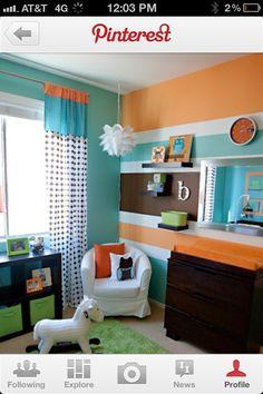 baby room color scheme