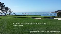 """Monday Motivation - """"Only he who can see the invisible can do the impossible."""""""