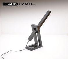 LED Wood Desk lamp DL002 by blackgizmo on Etsy