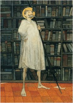 Quixote in the Library, the character between books by Svetlin Vassilev