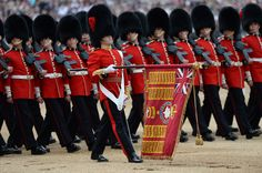 Almost fifteen hundred soldiers from the Household Division were on parade to mark the Queen's Official 90th Birthday on 11th June 2016 on Horse Guards Parade, at the ceremony known as Trooping the Colour. All the Royal Colonels accompanied Her with The Prince of Wales, The Duke of Cambridge, and The Princess Royal also riding on the parade. This year, the Colour being trooped in the presence of Her Majesty The Queen is that of Number 7 Company Coldstream Guards. The Field Officer in…