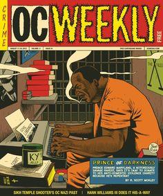 OC Weekly, August 17, 2012   Art director: Laila Derakhshanian Illustration: Jim Rugg