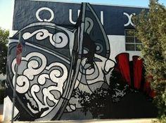 David Flores – Don Quixote New Mural @ Los Angeles, USA