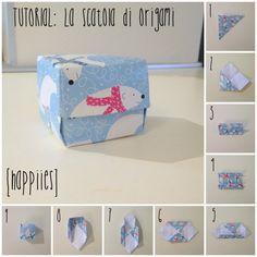 #diy #scatolina #origami