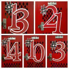 Basketball locker room ideas