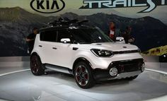 A Soul that's been jacked up, toughened, and fitted with electric all-wheel drive. See the Trail'ster concept and read the details at Car and Driver. Kia Soul, Car And Driver, Future Car, My Ride, Camping Hacks, Concept Cars, Dream Cars, Paths, Jeep