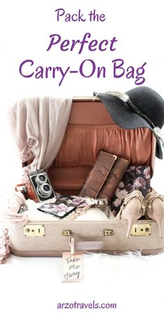 Packing Guide.How to pack the perfect carry-on bag. Travel