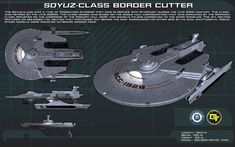 Soyuz Class ortho [New] by unusualsuspex.deviantart.com on @DeviantArt