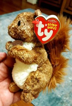 TREEHOUSE the SQUIRREL TY Beanie Babies NEW WITH TAGS (2007) Retired f9d50e0987cb