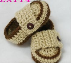 Crochet baby shoes, Newborn baby slippers, New 0-12 Crochet Handmade Knit High-top Boots High Quality Casual Toddler baby Shoes  #Affiliate