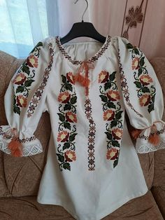 Bell Sleeves, Bell Sleeve Top, Floral Tops, Embroidery, Clothes, Women, Fashion, Stuff Stuff, Cross Stitch Designs