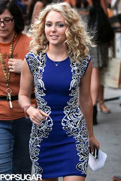 "AnnaSophia Robb was on the set of ""The Carrie Diaries"" in NYC on July 24,2013"
