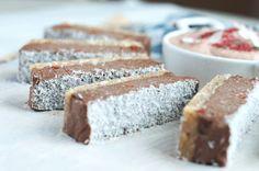 Raw Nutella Slice #Vegan #Paleo