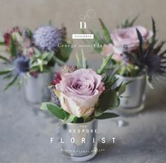 Beautiful Brand Identity for The Bespoke Florist, Oxfordshire - Making Waves CreativeMaking Waves Creative